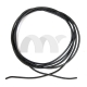 22 AWG 5 Feet (1.5m) Gauge Silicone Wire Flexible Stranded Copper Cables Black