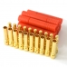10x 4.0MM Bullet Connector Plugs & Housing Sets for RC Lipo Power Supply