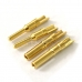 5x Gold Plated Metal Pin Connector Plug Set For Big Tamiya RC Battery