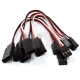 10pcs 100mm Servo Extension Lead Wire Cable Cord For Futaba JR Male To Female