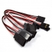 10pcs 150mm Servo Extension Lead Wire Cable Cord For Futaba JR Male To Female