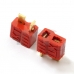 5 Pair Skid Resistance T Plug Connector for Deans Lipo Battery RC Heli Car