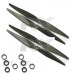 2 Pair 1150 Carbon Fiber CW/CCW Propeller Prop for DJI F450 F550 FPV Quadcopter