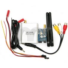 FPV 5.8G 200mw RC5808 Receiver&TS58200 Transmitter Airplane Receiver System Kits