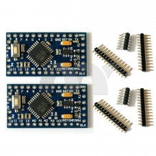 2 Pcs Atmega328 ATMEGA328P Pro Mini Board Module 5V 16MHz For Arduino