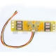 6-Lamp CCFL Backlight Inverter 6 Connectors 2-Pins 3.5mm Pitch 12V Board Boost