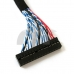 LVDS Cables FI-X30P-S6 30Pin 2ch 6-bit for 36Bit LVDS Signal LCD Monitor Screen