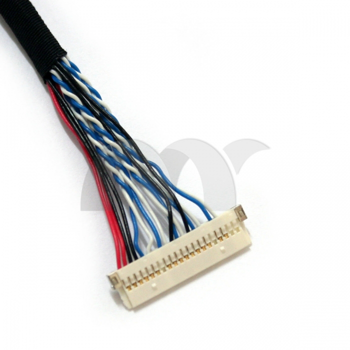 LVDS Cable 20 Pin DF19-20P-D8 Single 8-bit for LCD Contrroler to