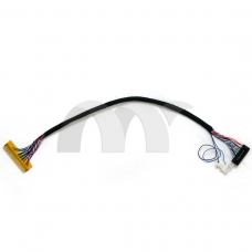 LVDS Cable 30 Pin FI-X30H-D6 1ch 6bit for HSD100IFW1-A00 CLAA102NA0ACW LED Panel
