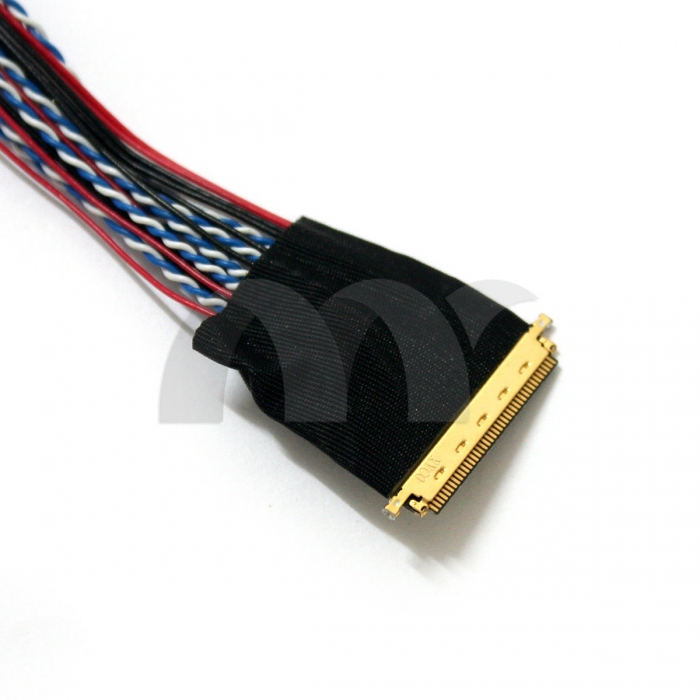 9 pcs universal led screen lvds cable kit 30 40 50 pins 20455 20346 20474 20525. Black Bedroom Furniture Sets. Home Design Ideas
