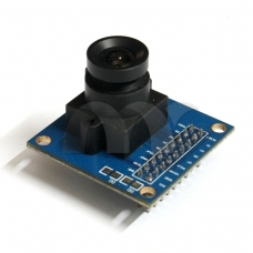 VGA OV7670 Camera Module Lens CMOS 640X480 SCCB Compatible W/ I2C Interface