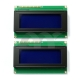 2 PCS 2004 20X4 Character LCD Module Display Blue Backlight For Arduino