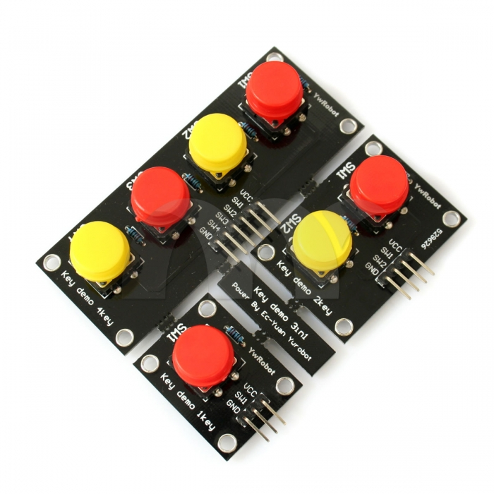 Button pad kit for arduino avr arm
