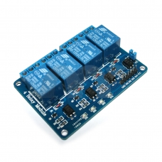 4-Channel 12V Relay Module Coupling Optocoupler High Trigger For MCU Arduino