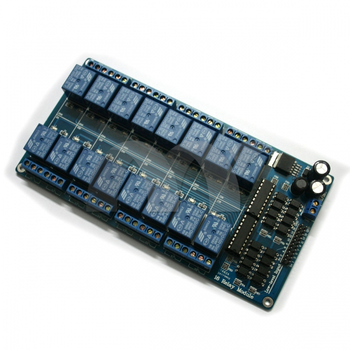 16-Channel 5V Relay Shield Module For Arduino UNO 2560 1280