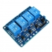 4-Channel 5V Relay Module Coupling Optocoupler High Trigger For MCU Arduino