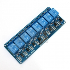 8-Channel 5V Relay Shield Module For Arduino UNO 2560 1280 ARM PIC AVR STM32