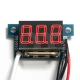 "0.36"" Red LED Digital DC Ammeter AMP Mini Current Panel Meter DC 0-9.99A"