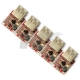 5 PCS Step Up DC-DC Boost Converter 3V to 5V 1A USB Charger Mini Mobile