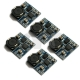 5 PCS Mini DC-DC Buck Converter Step Down Module Power Supply For Aeromodelling