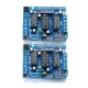 2 PCS L293D Motor Drive Shield Expansion Board For Arduino Duemilanove Mega UNO