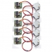 5 Pcs DC 5V Stepper Step Motor + Driver Test Module Board ULN2003 For Arduino
