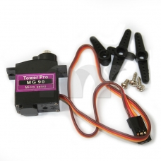 MG90 Metal Geared Micro Tower Pro Servo For Plane Helicopter Boat Car