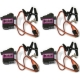4 Pcs MG90 Metal Geared Micro Tower Pro Servo For Plane Helicopter Boat Car