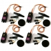 4 PCS Genuine TowerPro MG996R Torque Analog Metal Gear RC Servo For Helicopter