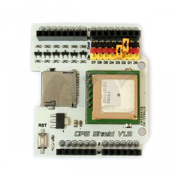 Fastrax up gps receiver module shield v boards for