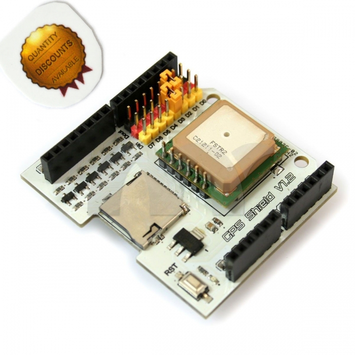 Fastrax UP501 GPS Receiver Module Shield V1 2 Boards for
