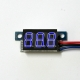 Mini DC 0-99V 3-Wire Voltmeter Blue LED Display Volt Meter Digital Panel Meter