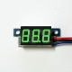 Mini DC 0-99V 3-Wire Voltmeter Green LED Display Volt Meter Digital Panel Meter