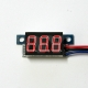 Mini DC 0-99V 3-Wire Voltmeter Red LED Display Volt Meter Digital Panel Meter