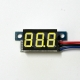 Mini DC 0-99V 3-Wire Voltmeter Yellow LED Display Volt Meter Digital Panel Meter